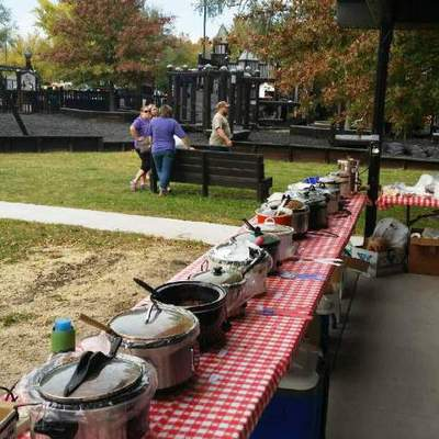 Annual chili cook off and feed fundraiser.